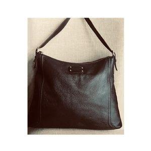 Kate Spade Brown Leather Hobo Shoulder Handbag